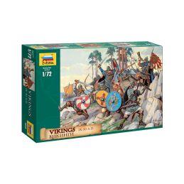 Zvezda figurky Vikings (1:72) - 1