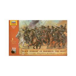 Zvezda figurky Black Hussars (1:72) - 1