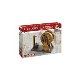 Italeri Leonardo Da Vinci - pákový jeřáb - 1