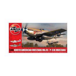 Airfix North American Mustang Mk.IV (1:48) - 1