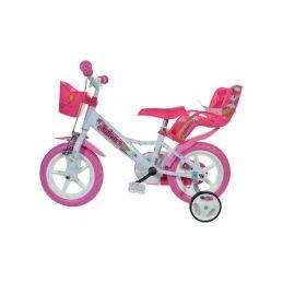 """DINO Bikes - Dětské kolo 12"""" Jednorožec se sedačkou - 2"""
