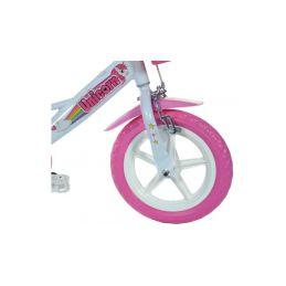 """DINO Bikes - Dětské kolo 12"""" Jednorožec se sedačkou - 4"""