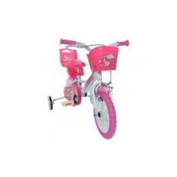 """DINO Bikes - Dětské kolo 12"""" Jednorožec se sedačkou - 5"""