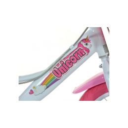 """DINO Bikes - Dětské kolo 16"""" Jednorožec se sedačkou - 6"""