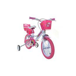 """DINO Bikes - Dětské kolo 16"""" Jednorožec se sedačkou - 7"""