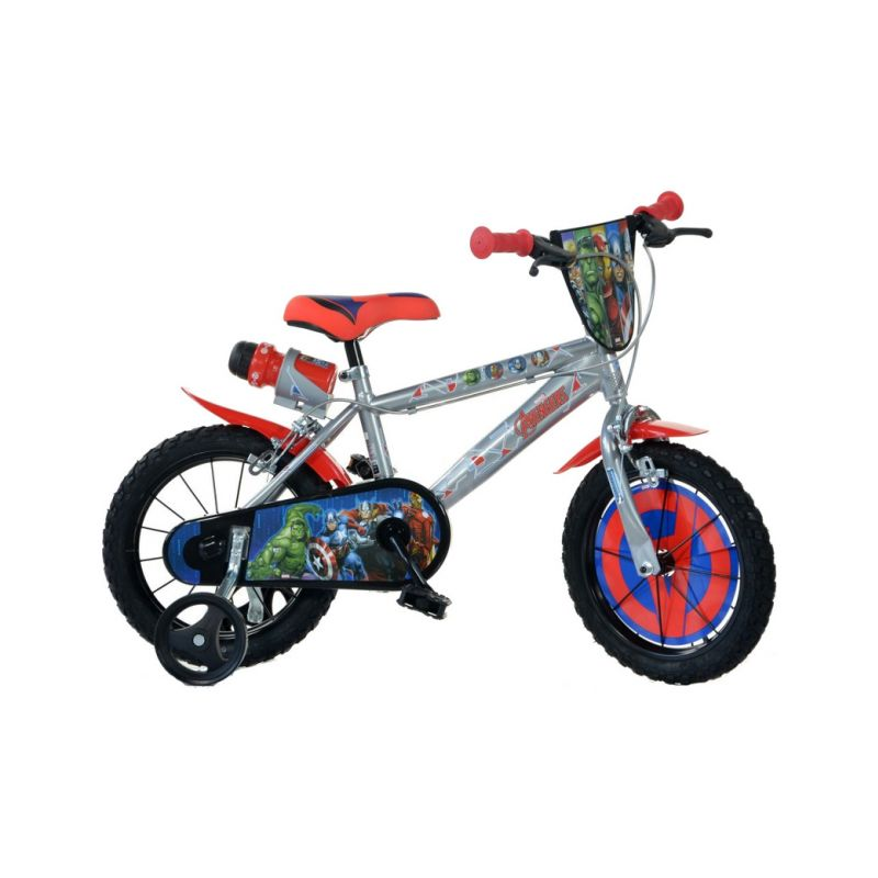 """DINO Bikes - Dětské kolo 14"""" Avengers - 1"""