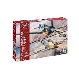 Italeri War Thunder BF109 F-4 a FW 190 D-9 (1:72) - 1