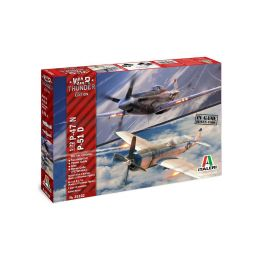 Italeri War Thunder P-47 N a P-51 D (1:72) - 1