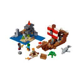 LEGO Minecraft - Dobrodružství pirátské lodi - 1