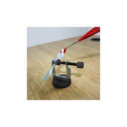 Modelcraft mini svěrky 3ks s magnetickým stojánkem - 3