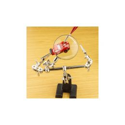 Modelcraft stojánek s lupou a svorkami - 2