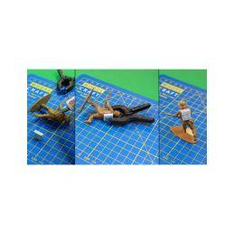 Modelcraft nylonové svorky 75mm a 50mm (3+6ks) - 2