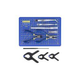Modelcraft nářadí s řezací podložkou (sada 15ks) - 1