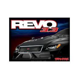 Traxxas Nitro Revo 1:8 TQi s BlueTooth RTR červené - 5