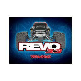 Traxxas Nitro Revo 1:8 TQi s BlueTooth RTR červené - 6