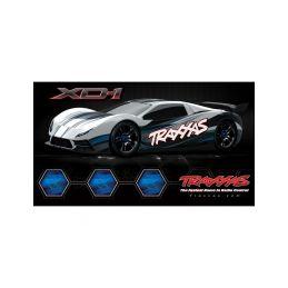 Traxxas XO-1 1:7 TQi BlueTooth RTR černé - 2