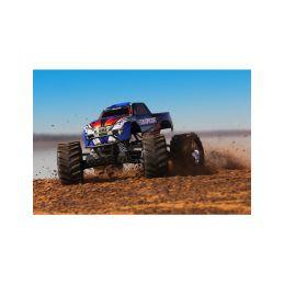 Traxxas Stampede 1:10 4WD RTR modrý - 2