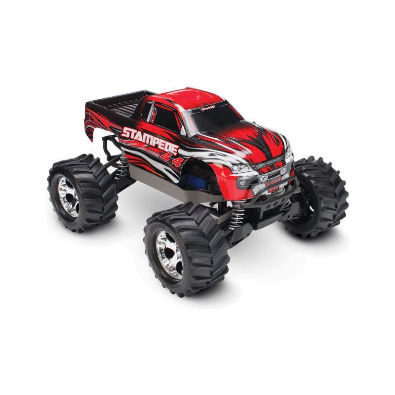 Traxxas Stampede 1:10 4WD RTR červený - 1