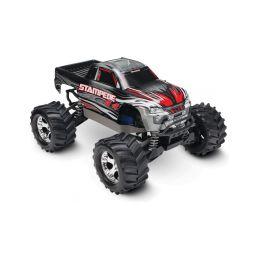 Traxxas Stampede 1:10 4WD RTR stříbrný - 1