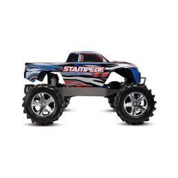 Traxxas Stampede 1:10 4WD RTR stříbrný - 22