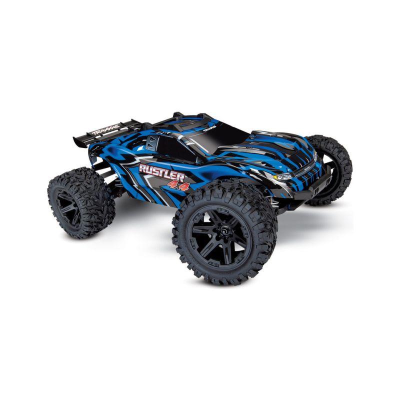 Traxxas Rustler 1:10 4WD RTR modrý - 1