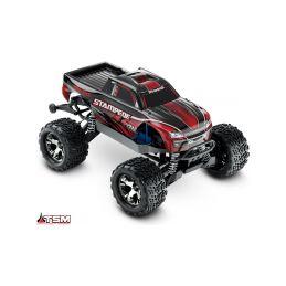 Traxxas Stampede 1:10 VXL 4WD TQi RTR červený - 1