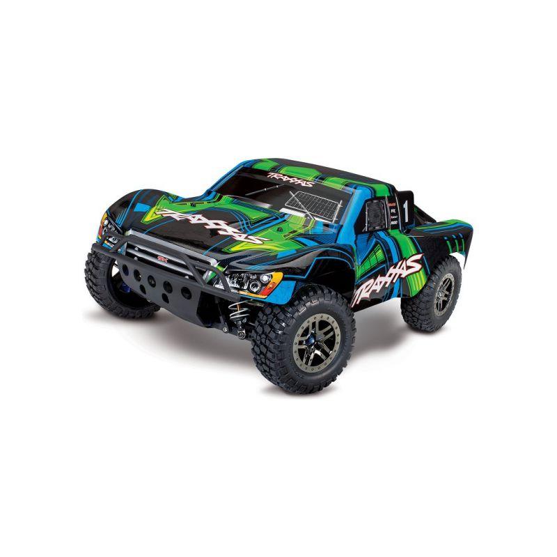 Traxxas Slash Ultimate 1:10 4WD VXL TQi RTR zelený - 1
