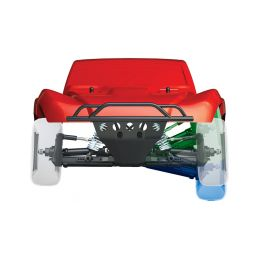 Traxxas Slash 1:10 VXL 4WD TQi RTR oranžový - 23