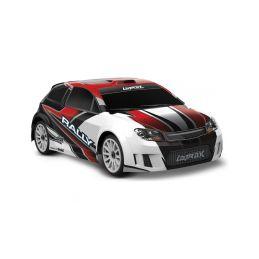 Traxxas Rally 1:18 4WD RTR červené - 1