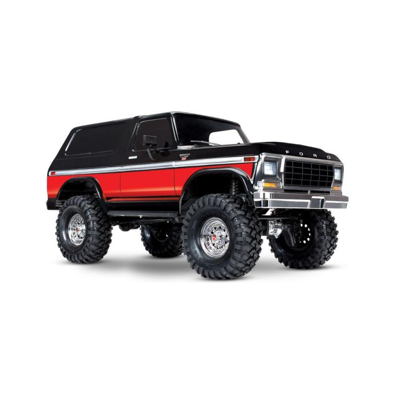 Traxxas TRX-4 Ford Bronco 1:10 TQi RTR červené - 1