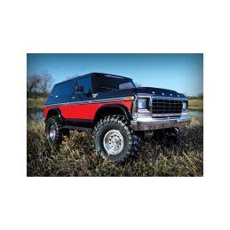 Traxxas TRX-4 Ford Bronco 1:10 TQi RTR červené - 2
