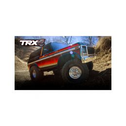 Traxxas TRX-4 Ford Bronco 1:10 TQi RTR červené - 44