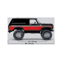 Traxxas TRX-4 Ford Bronco 1:10 TQi RTR červené - 52