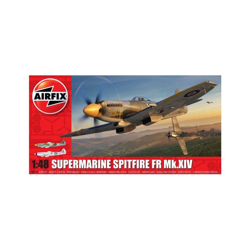 Airfix Supermarine Spitfire FR Mk.XIV (1:48) - 1