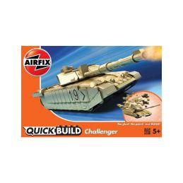 Airfix Quick Build Challenger Tank - 1