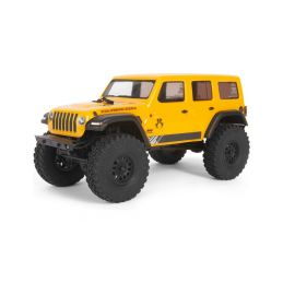 Axial SCX24 Jeep Wrangler JLU CRC 2019 1:24 4WD RTR žlutý - 1
