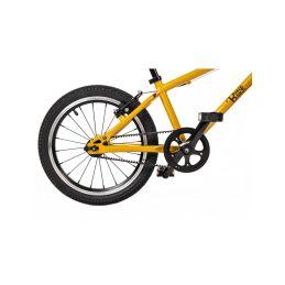 """Bungi Bungi - Dětské kolo 16"""" ultra lehké ananasová žlutá - 12"""