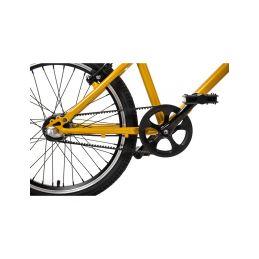 """Bungi Bungi - Dětské kolo 20"""" 3-rychlostní ultra lehké ananasová žlutá - 8"""