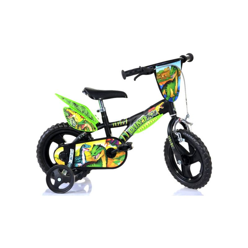 "DINO Bikes - Dětské kolo 12"" Dino T.Rex - 1"