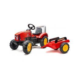 FALK - Šlapací traktor Supercharger červený - 1