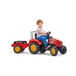 FALK - Šlapací traktor Supercharger červený - 3