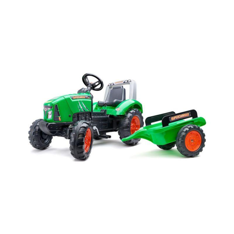 FALK - Šlapací traktor Supercharger zelený - 1