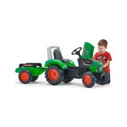 FALK - Šlapací traktor Supercharger zelený - 4