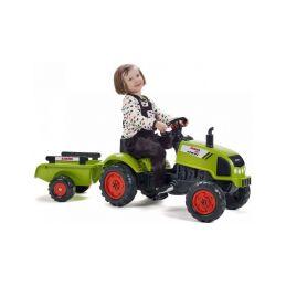 FALK - Šlapací traktor Claas Arion 410 s vlečkou - 3