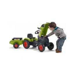 FALK - Šlapací traktor Claas Arion 410 s vlečkou - 4
