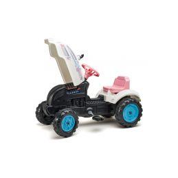 FALK - Šlapací traktor Butterfly Farmer s vlečkou - 2