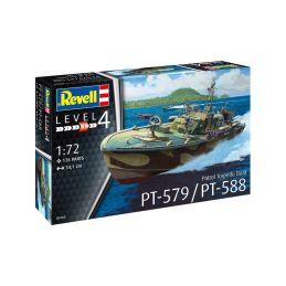 Revell Patrol Torpedo Boat PT-588/PT-579 (1:72) - 1