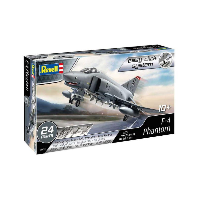 Revell EasyClick McDonell F-4E Phantom (1:72) - 1