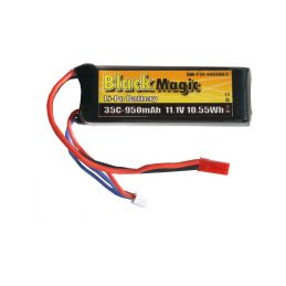 Black Magic LiPol 11.1V 950mAh 35C JST - 1