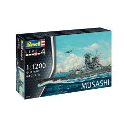 Revell Musashi (1:1200) (set) - 1